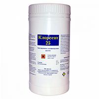 Клорсепт 25 дезинфицирующее средство (300 шт): инструкция по применению и отзывы от покупателей