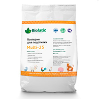 Бактерии для подстилки Biolatic Multi-25 (1 кг): инструкция по применению и отзывы от покупателей