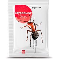Гранулы Муравьед Супер от садовых и домовых муравьев: инструкция по применению и отзывы от покупателей