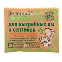 Доктор Робик Зеленый пакет средство для выгребных ям и септиков (40 гр): инструкция по применению и отзывы от покупателей