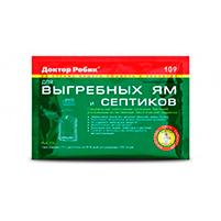 Доктор Робик 109 препарат для выгребных ям и септиков (75 гр): инструкция по применению и отзывы от пользователей
