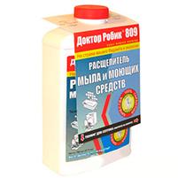 Доктор Робик 809 расщепитель мыла и моющих средств (1 л): инструкция по применению и отзывы от покупателей