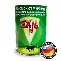 Порошок (Exil) для уничтожения садовых муравьев на грядках