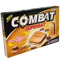 Средство от тараканов COMBAT Super Bait (6 штук)