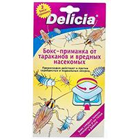 """Бокс-приманка от тараканов и вредных насекомых """"Delicia"""" (2 шт)"""