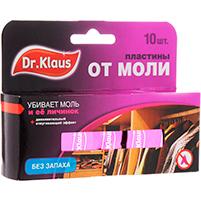 "Пластины от моли ""Dr.Klaus"" (10 шт)"