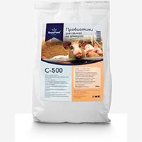 Пробиотики для свиней на откорме C-500 (фасовка 0,5 кг)