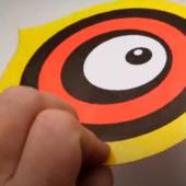 """""""Глаз"""" - визуальный отпугиватель птиц (Видеообзор)"""