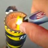 """Видео: как правильно обрабатывать территорию дымовой шашкой """"Тихий вечер"""""""