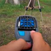 Видео: Как работает отпугиватель комаров Thermacell MR 450