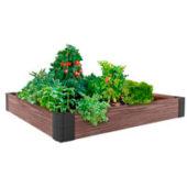 Грядка из ДПК «Еврогрядка» - современный способ для выращивания цветов или культур